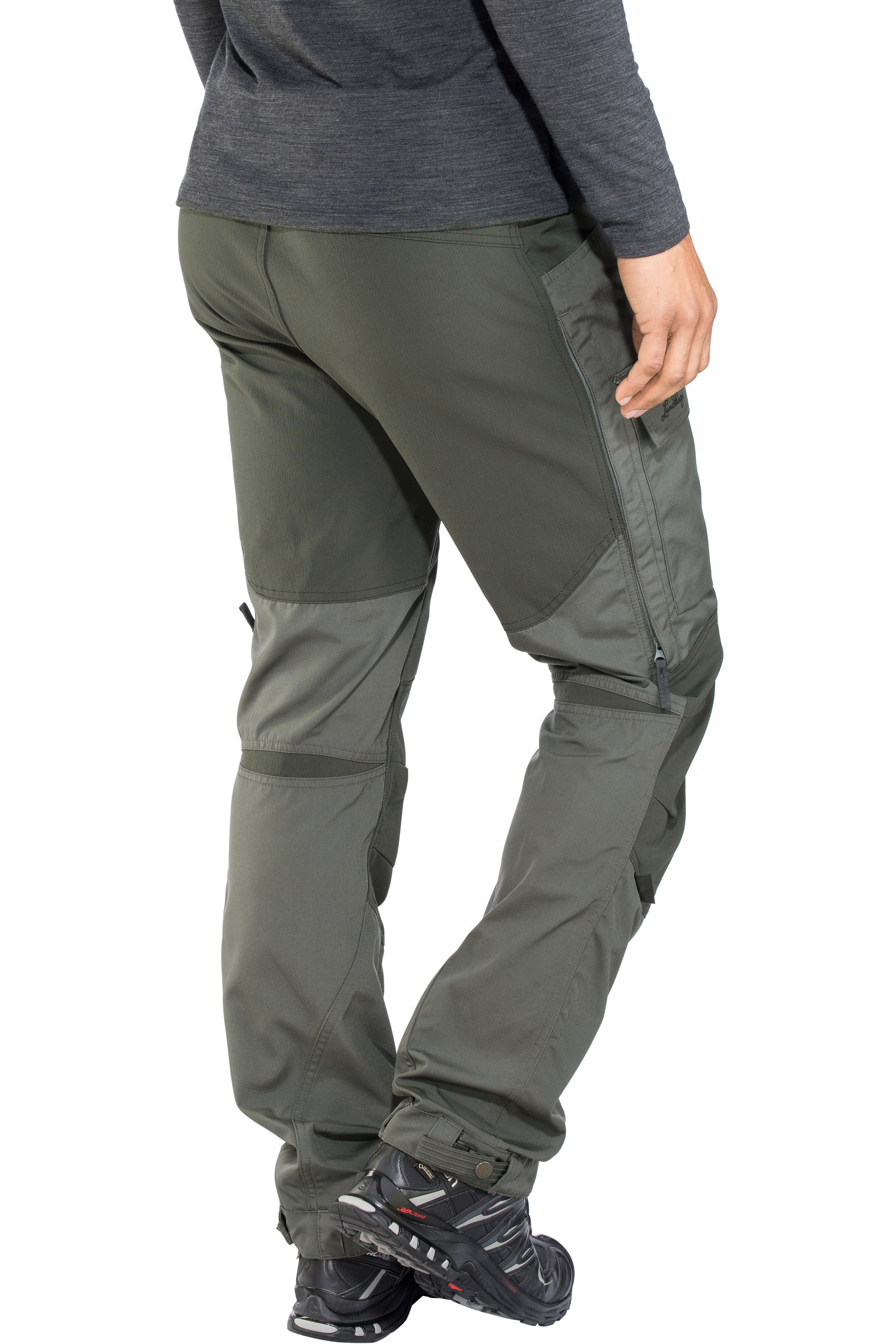 8669ec1c Lundhags Authentic II Pants Men granite/charcoal at Addnature.co.uk